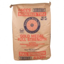 GM Unbleached Flour Full Strength (All Purpose) (5 lb, 10 lb or 50 lb)