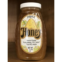 Sweet Fields Honey 2 lb (Raw, Locally Made) (June special, 10% off)