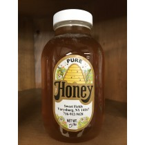 Sweet Fields Honey 5 lb (Raw, Locally Made) (June special, 10% off)