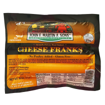 John F. Martin Cheese Franks (1 lb)