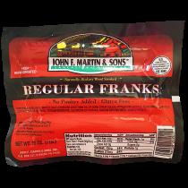 John F. Martin Regular Franks (1lb)