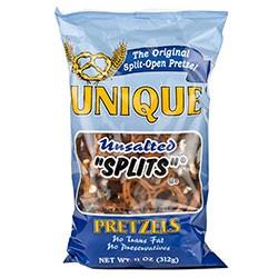 Unsalted Pretzel Splits 11oz (September special, 2 fer $7)