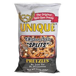 Unique Pretzel Splits Extra Salt (September special, 2 fer $7)